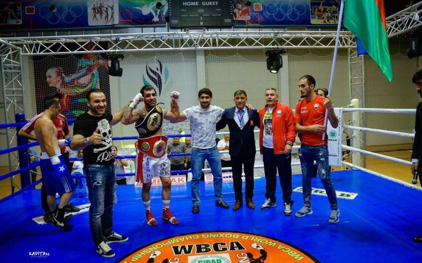 В Баку азербайджанцы Европы проведут соревнования по профессиональному боксу