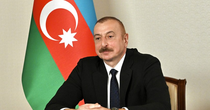 Azerbaijani, Turkmen Presidents meet in video conference