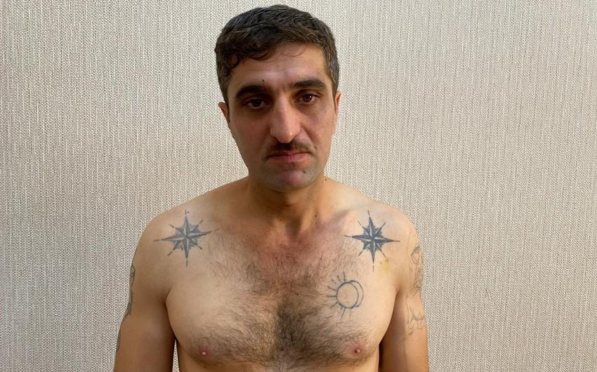 Bakıda Rıjiy Tofiq adı ilə tanınan avtoritetdən silah və narkotik vasitə aşkarlanıb - FOTO