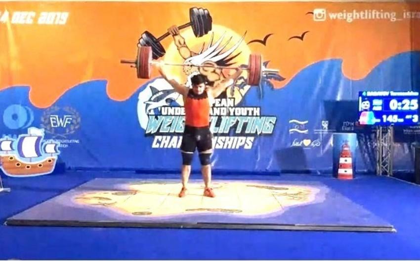 Azərbaycan atleti Avropa birinciliyinin bürünc medalını qazanıb - FOTO
