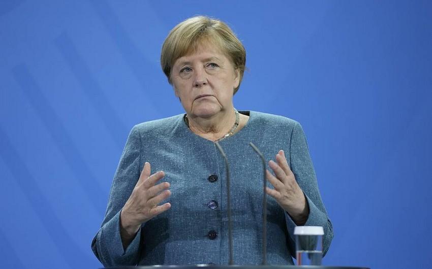 """Merkel: """"Qərb Əfqanıstanda qarşıya qoyulan bütün məqsədlərə çatmadı"""""""