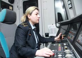 Bakı metrosunda qadın maşinistlərin sayı artırılır