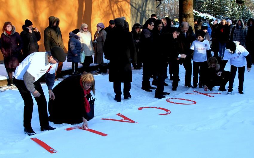 Litvada Xocalı soyqırımının anım mərasimi keçirilib