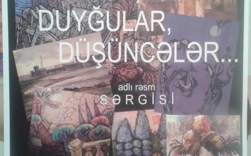 """Gənc Tamaşaçılar Teatrında """"Rənglər, duyğular, düşüncələr"""" rəsm sərgisi keçiriləcək"""