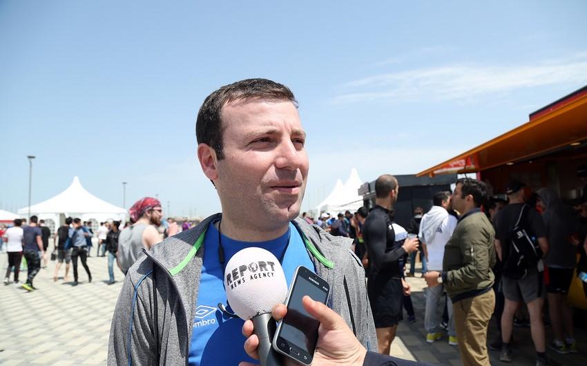 """Elxan Məmmədov: """"Marafonda ayağımda zədə olmasına baxmayaraq 10 kilometr qaçdım"""