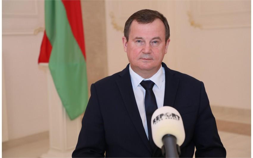 Səfir: Azərbaycan Belarusu Qarabağın bərpasında iştiraka dəvət edib