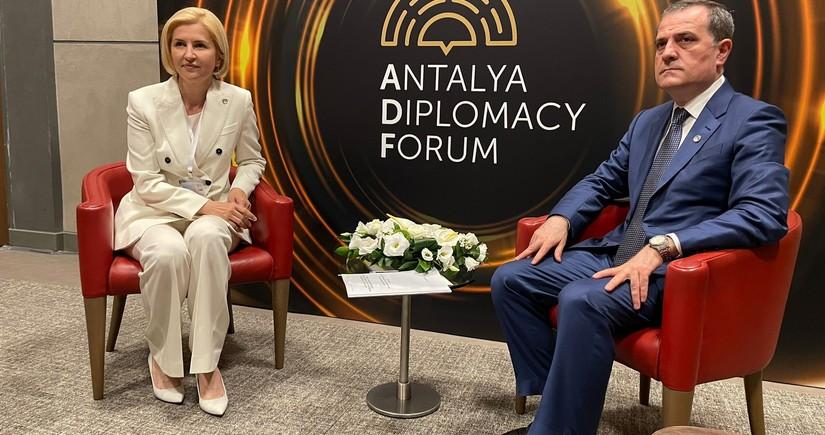 Jeyhun Bayramov informs Governor of Gagauzia about liberated territories