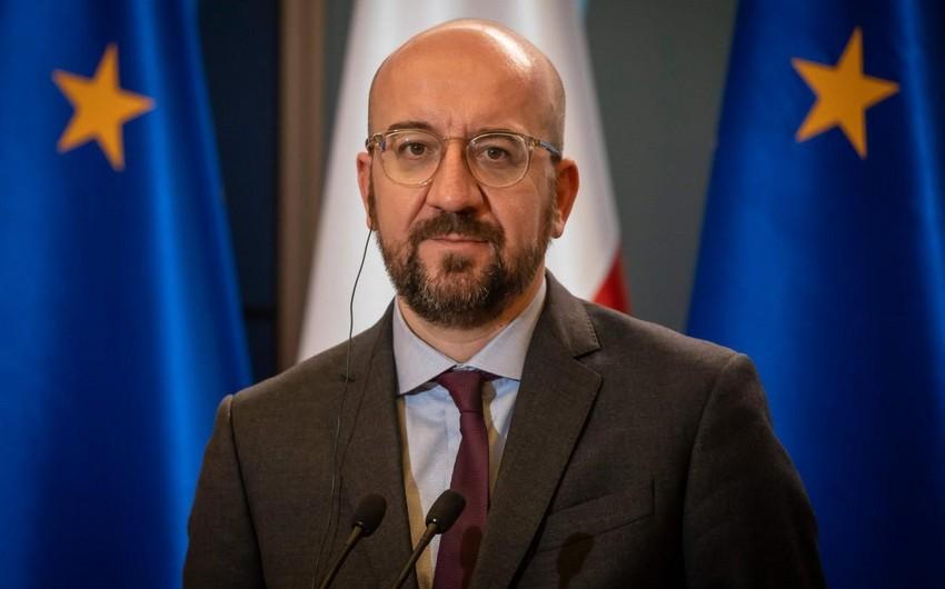 """Şarl Mişel: """"Azərbaycan və Ermənistan arasında dialoqa ehtiyac var"""""""
