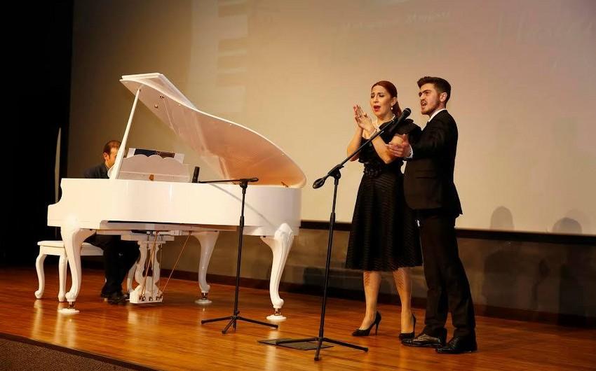 Fidan Haciyeva tələbələri ilə birgə konsert verib