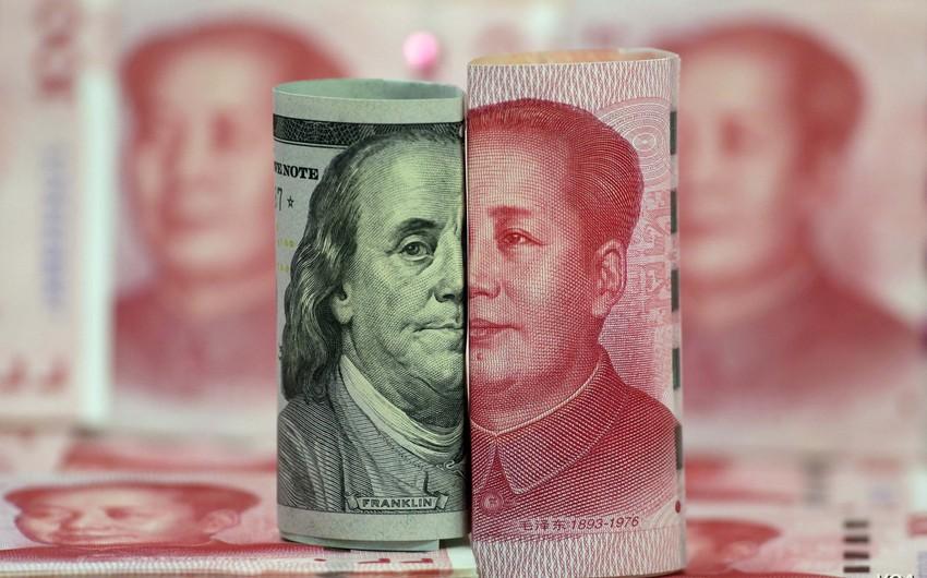 Çin Mərkəzi Bankı yuanın kursunu dollara qarşı möhkəmləndirib