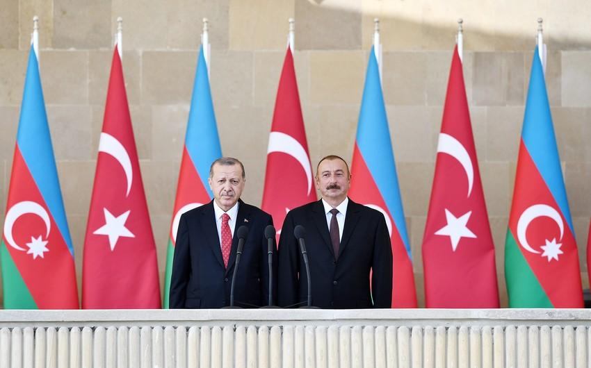 İlham Əliyev və Rəcəb Tayyib Ərdoğan  -