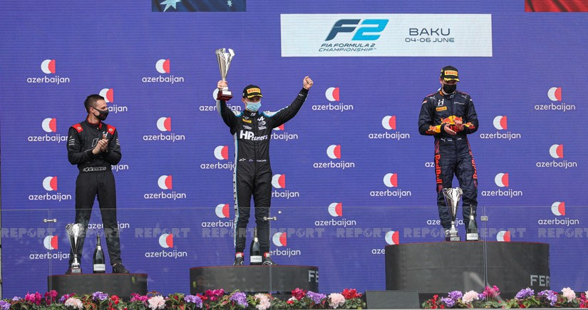 Formula 2 winner at Azerbaijan Grand Prix announced