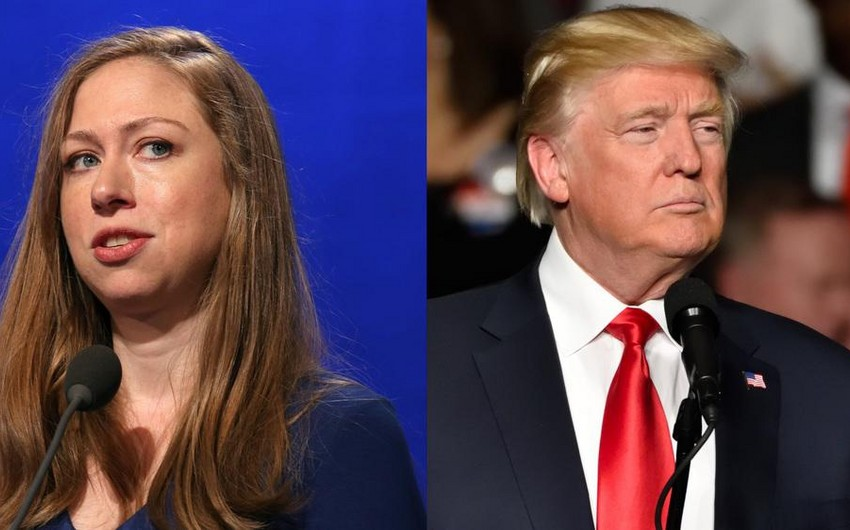 Trump sparred with Chelsea Clinton over Ivanka's G20 seat