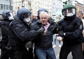В Германии началась акция протеста против нового локдауна