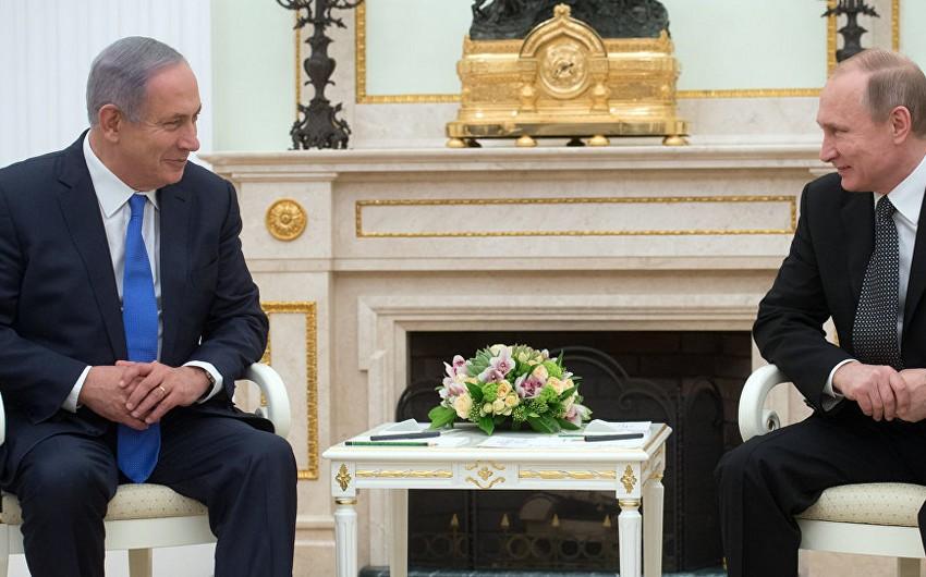 Vladimir Putin son iki ildə İsrailin baş naziri ilə yeddinci dəfə görüşəcək