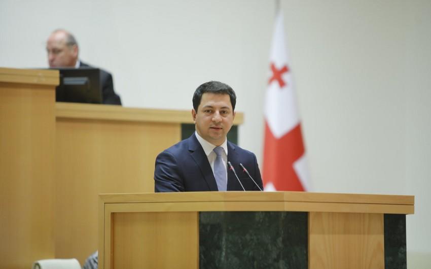 Gürcüstan parlamentinə sədr seçilib