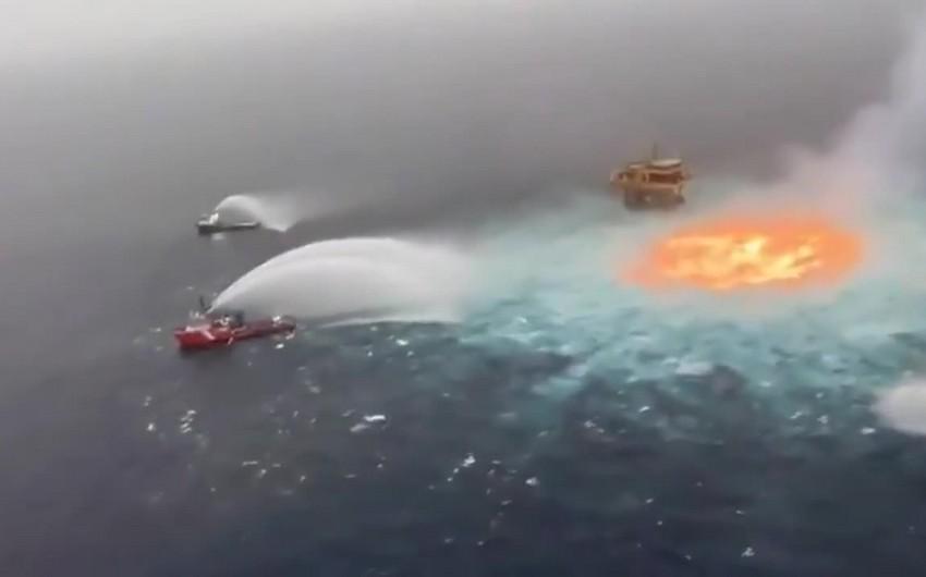 На подводном нефтепроводе в Мексиканском заливе произошел пожар