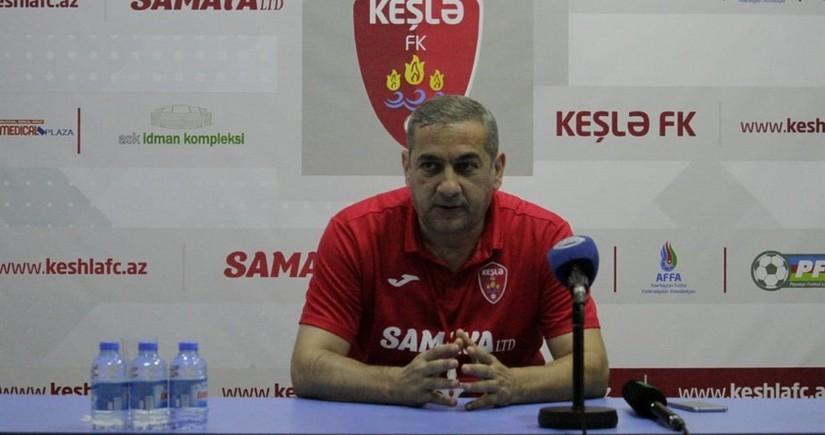 Yunis Hüseynov: Dörd futbolçumuz koronavirusa görə oyunu buraxdı