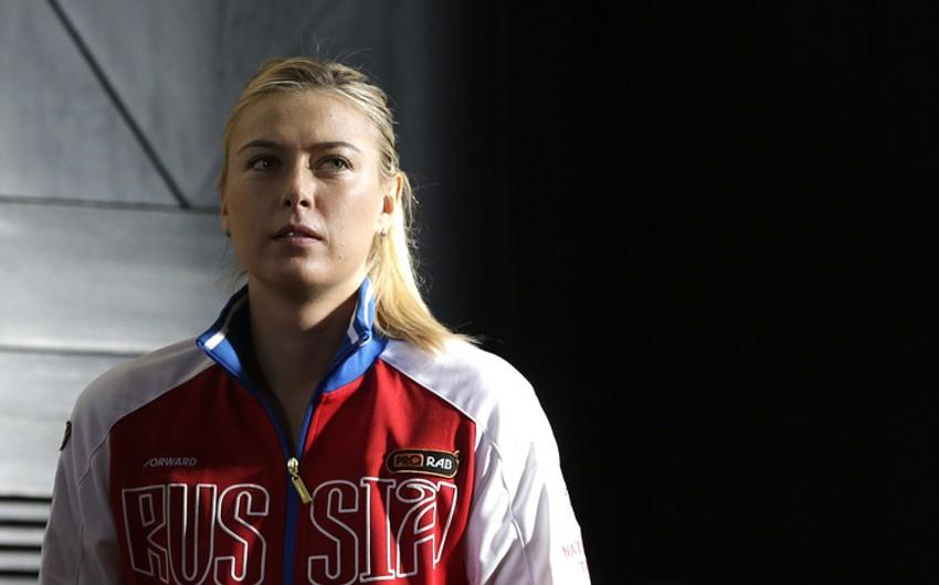 Rusiyalı tennisçi Mariya Şarapovanın cəzası açıqlanıb