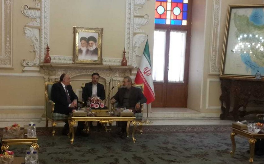 Larijani voices Iran's support for Karabakh settlement within Azerbaijan's territorial integrity