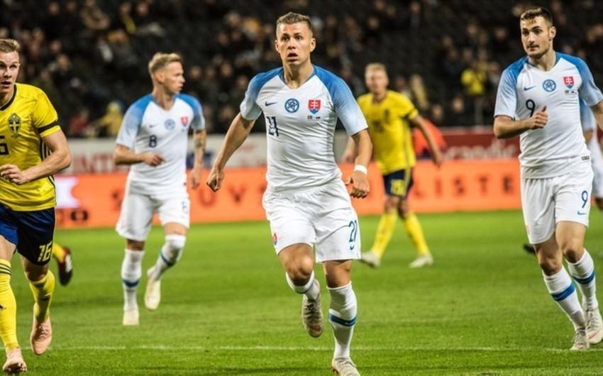 Slovakiyalı futbolçu: Azərbaycanla oyunda fərqlənməyə çalışacağam