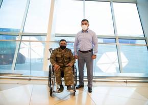 Фонд YAŞAT: Еще три тяжелораненых ветерана отправлены на лечение в Турцию