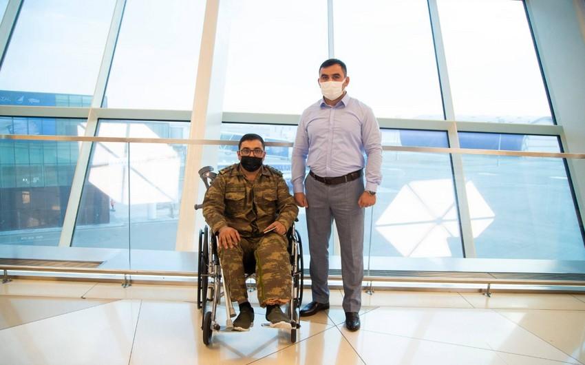 """Daha 3 qazi """"YAŞAT"""" Fondu tərəfindən Türkiyəyə göndərilib"""