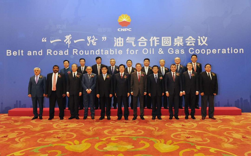 SOCAR attends a round table on oil-gas cooperation within One Belt - One Road concept