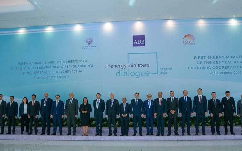 Energetika nazirinin müavini Özbəkistanda CAREC tədbirlərində  iştirak edib