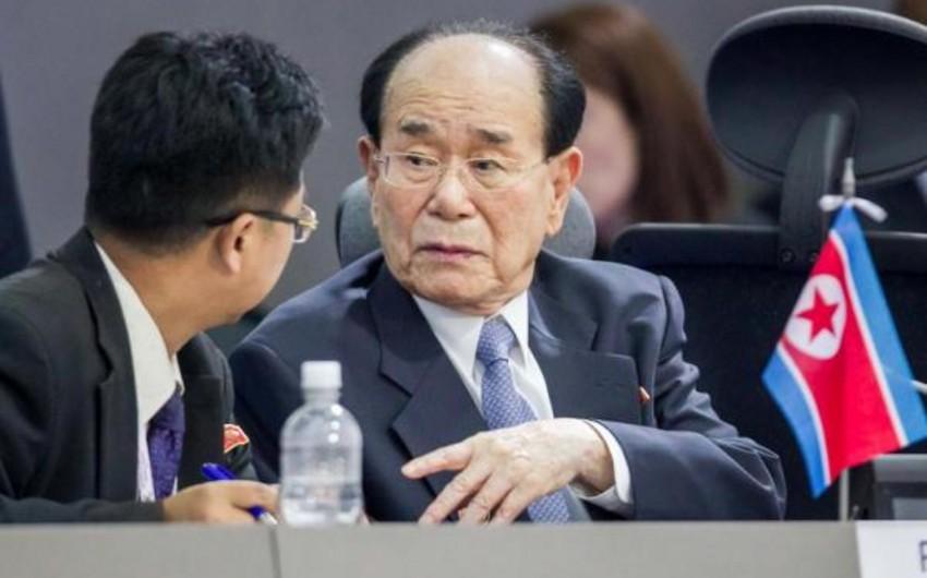 Şimali Koreya parlamentinin sədri Cənubi Koreyaya səfər edib