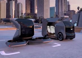 """""""General Motors"""" avtonom rejimdə uçan avtomobil modelini təqdim edib"""