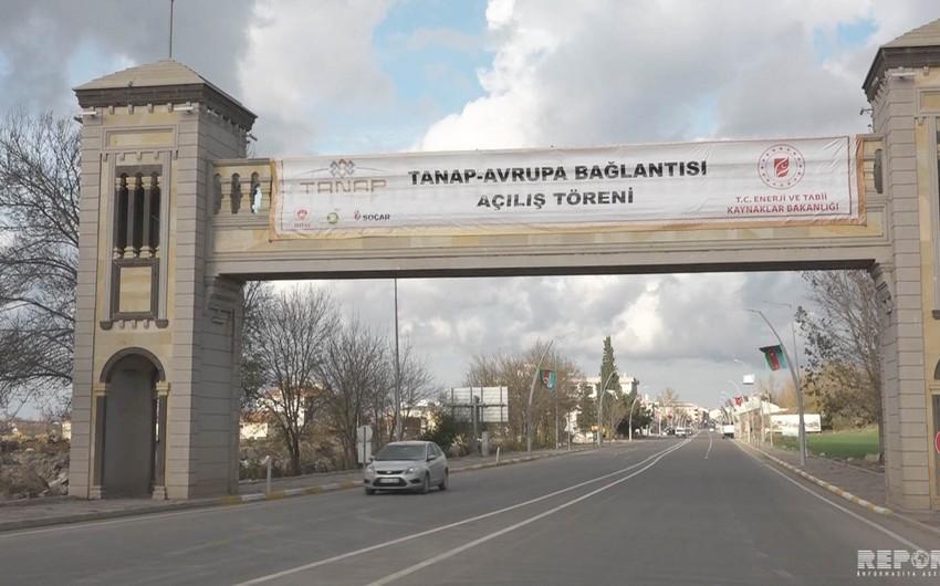 TANAP-ın II hissəsinin açılışına son hazırlıqlar görülür - FOTO