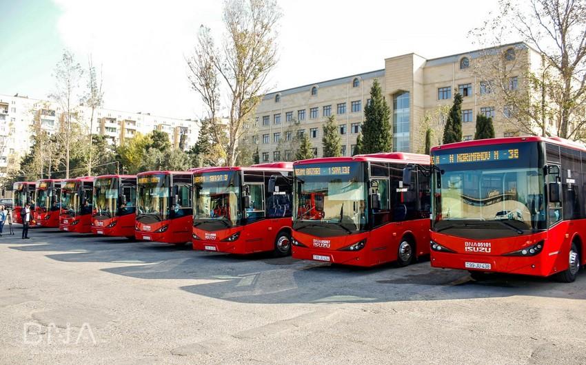 Bu gündən Bakıda 38 nömrəli müntəzəm marşrut üzrə istismarda olan avtobusların bir qismi yenilənəcək