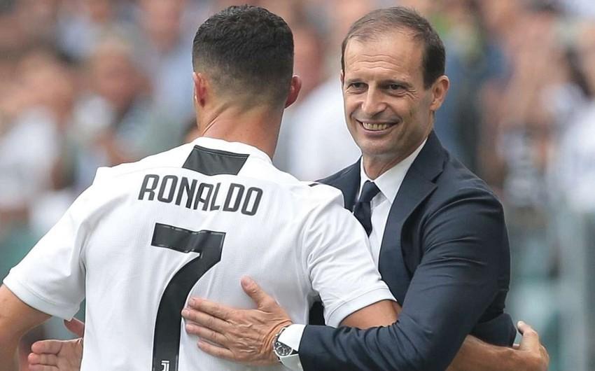 Massimiliano Alleqri: Ronaldu Yuventusda qalmaq istəmir