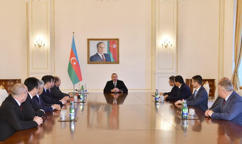 President Ilham Aliyev received participants of meeting of Council of Heads of CIS Security and Intelligence Agencies