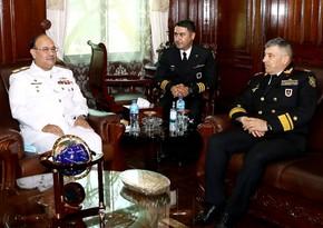Azərbaycan HDQ komandanı Pakistanın Hərbi Dəniz Akademiyasında olub