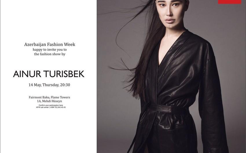Bakıda qazaxıstanlı dizayner Aynur Turisbekin kolleksiyası nümayiş olunacaq