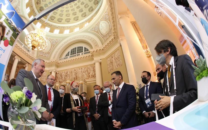 Azərbaycan Beynəlxalq Astronavtika Federasiyasının tədbirində iştirak edir