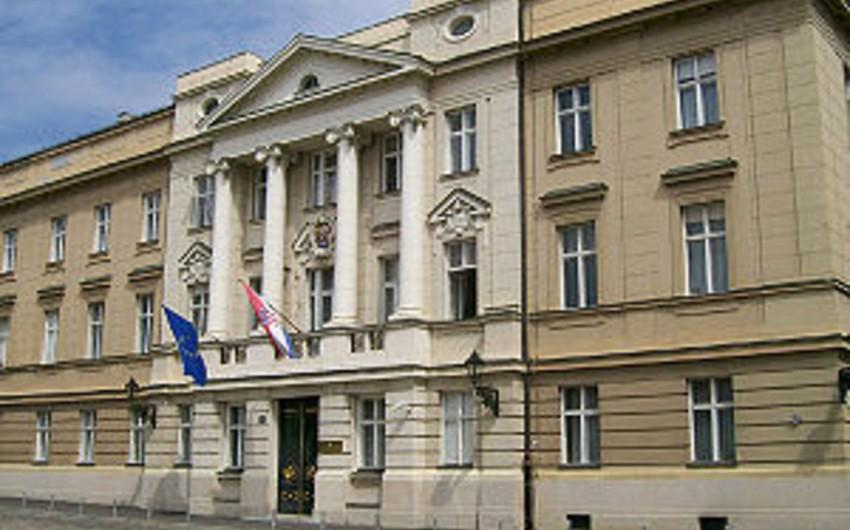 Xorvatiya parlamenti buraxılıb