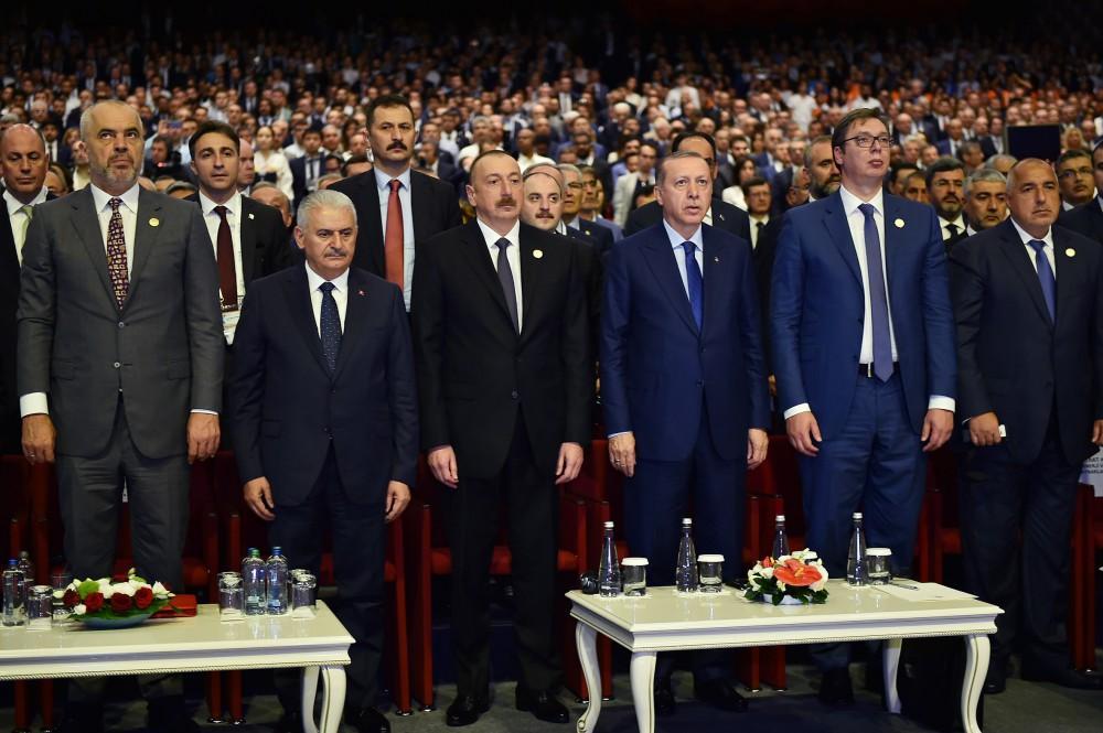 Президент Ильхам Алиев принял участие в мероприятии президентов в 22-м Всемирном нефтяном конгрессе - ДОПОЛНЕНО