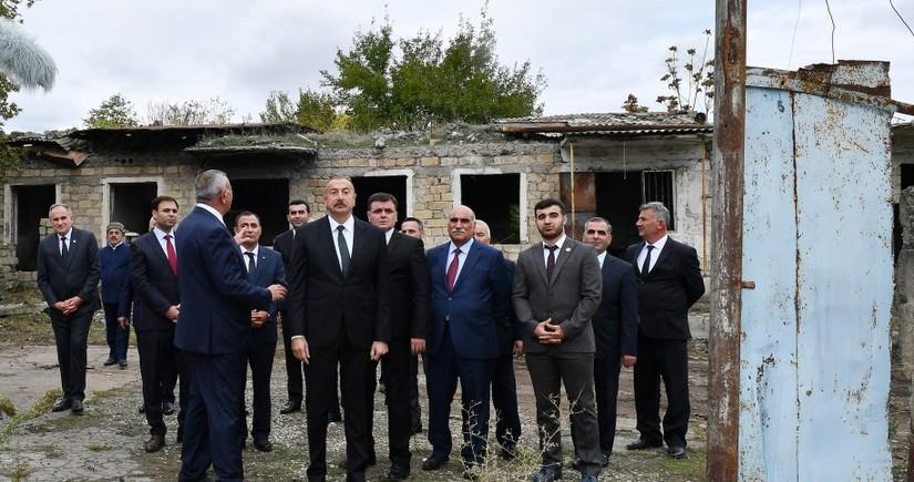 President Ilham Aliyev: Zangilan mosque is being restored
