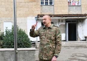 Глава государства: Операция по освобождению Шуши навечно войдет в историю