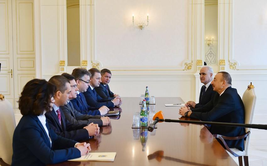 President Ilham Aliyev receives Governor of Russia's Stavropol Krai - UPDATED