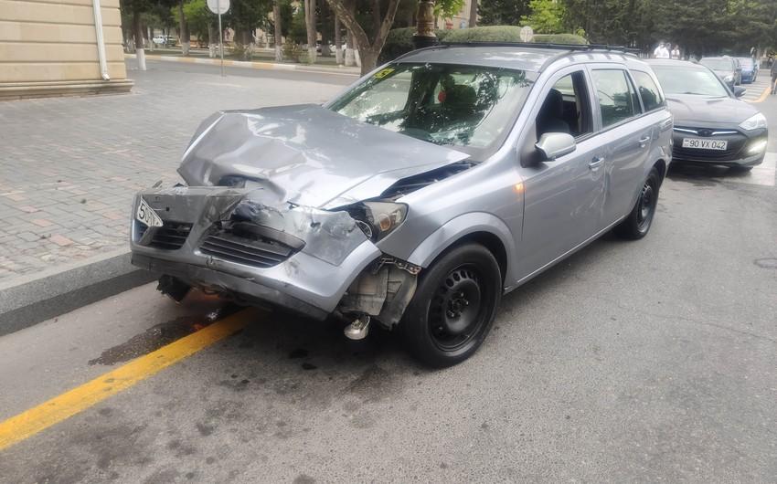 В Сумгайыте произошла дорожная авария, есть пострадавшие