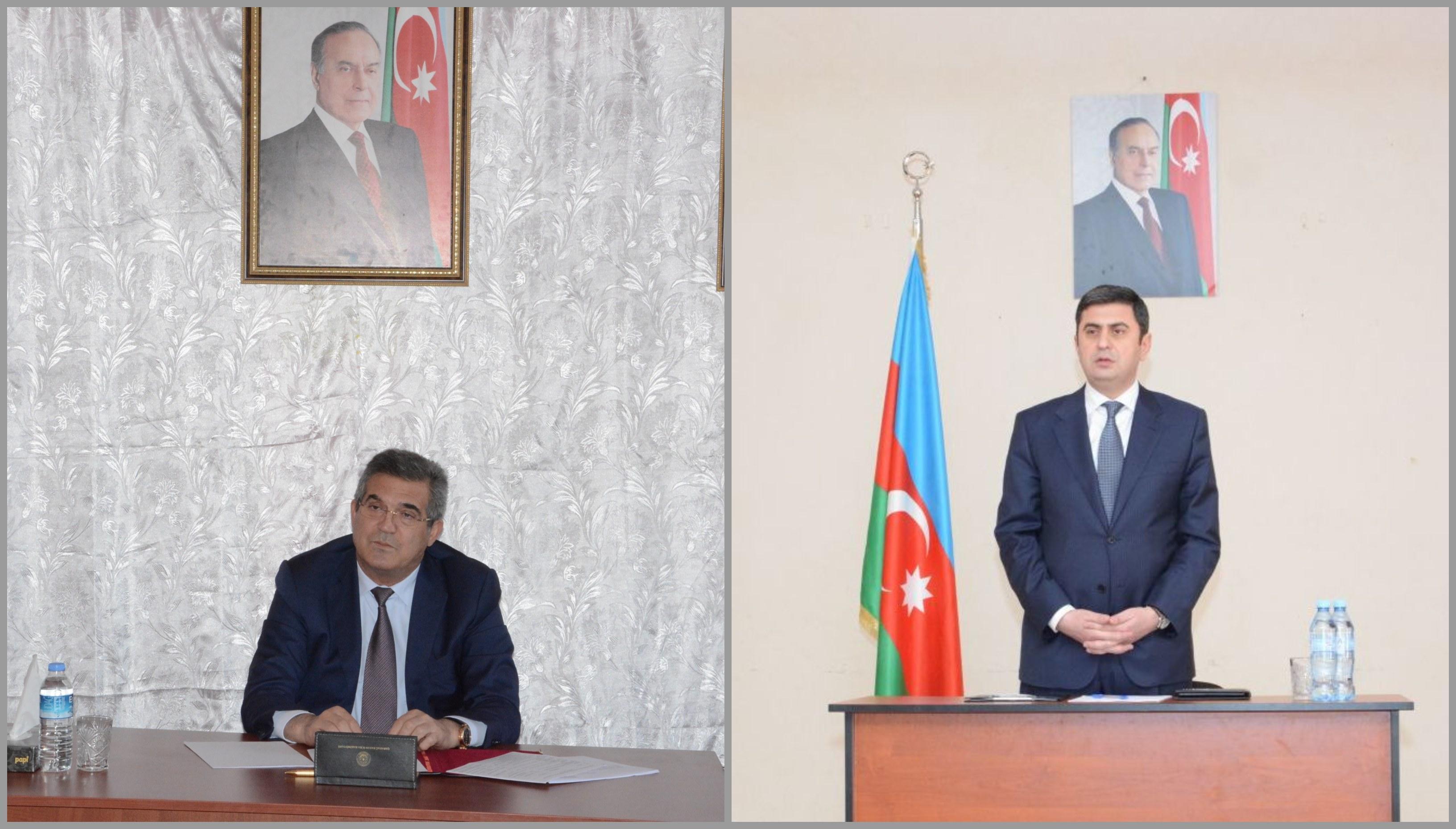 Süleyman Mikayılov və Elşən Salahov