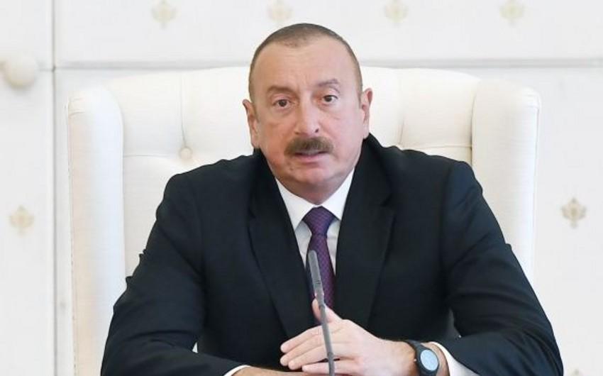 Президент Азербайджана поблагодарил Россию и Грузию