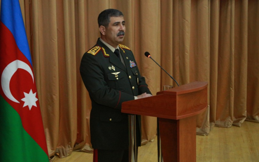 Zakir Hasanov: 'April battles proved fighting spirit, combat capability and power of Azerbaijani Army'