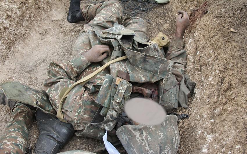 Suqovuşanda erməni hərbçilərin meyiti tapılıb