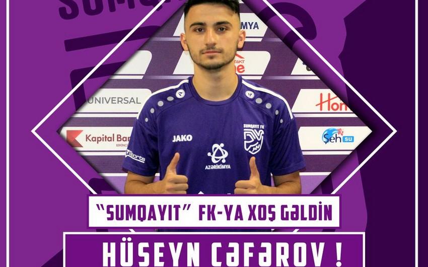 Sumqayıt 19 yaşlı futbolçu transfer etdi