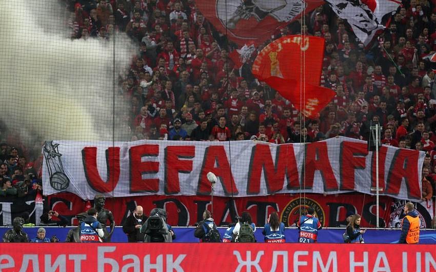 УЕФА открыл дисциплинарное дело в отношении российского Спартака